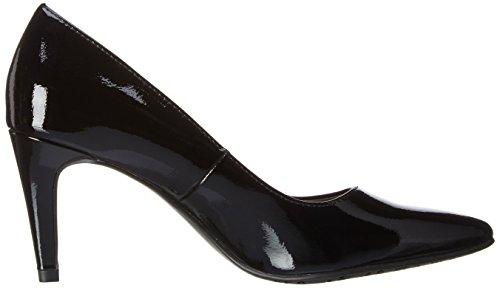 Tamaris 22447, Escarpins femme Noir (Black Patent 018)