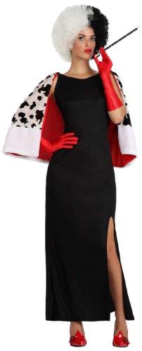 Imagen de atosa  disfraz de cruella de vil para mujer, talla m/l 15714