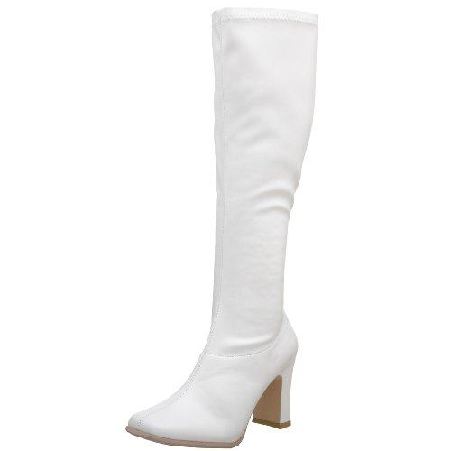 (Funtasma Gogo Stiefel KIKI-350 - PU Weiß 36 EU)