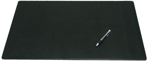 Ohne Pad Schienen (Dacasso Leder Schreibtisch Matte ohne Schienen, schwarz, 24x 19)