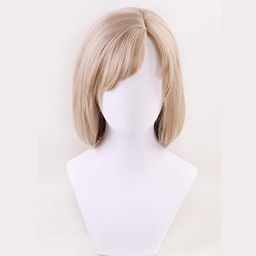 Zellen Cosplay Perücke Langes Halloween-Kostüm Macrophagen Synthetische Blonde Flechten Haar Perücken Für Frauen