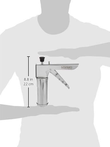 Amazon Brand - Solimo Plastic Cutter, Silver (SOKT54)