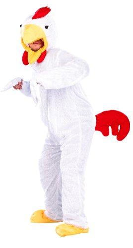Ganzkörper Kostüm Günstige - infactory Tierkostüme: Halloween- & Faschings-Kostüm Verrücktes Hühnchen (Ganzkörperkostüm Tier)