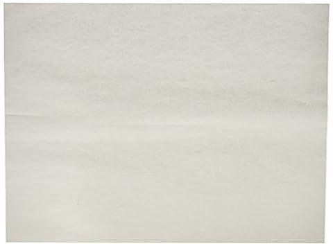 Grün Direct Backen Blatt–Pergament Papier Blatt für Backen und Kochen–30,5x 40,6cm weiß Backmatte