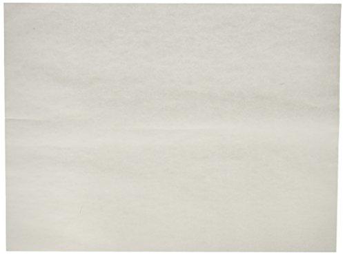 Grün Direct Backen Blatt–Pergament Papier Blatt für Backen und Kochen–30,5x 40,6cm weiß (Rocket Supplies Party)