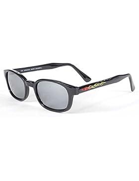 auténticas gafas de sol KD's flame/Espejo de Plata 30110 - bikers