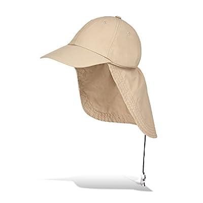 Black Snake Schirmmütze mit Nackenschutz ideal für Outdooraktivitäten von Black Snake - Outdoor Shop
