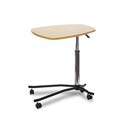 Desk Xiaolin Holz Mobile Carts Laptop-Tisch Schlafsofa seitigen Ende Hebeschreibtisch Konsolenhalterung buchen Tabelle Büro (Farbe : A) -