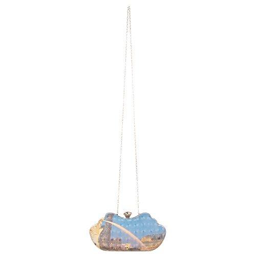 Ital-DesignClutch-tasche Bei Ital-design - Clutch Donna Blau Multi