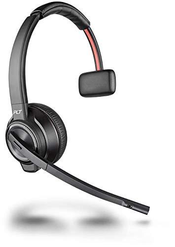 Plantronics Bluetooth DECT Headset Savi W8210 Monaurale Tragevariante (mit USB) in Schwarz
