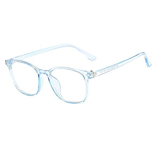 PinkLu GläSer Damen Retro Flacher Spiegel Schatten Sonnencreme Beliebt Quadratische Linse Kompakter Rahmen Süß Mode Sommer Neuer HeißEr Verkauf Rosa Graue Blaue Schwarze Brille