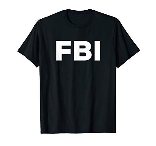 FBI T-Shirt Logo weiß - Federal Bureau of Investigation