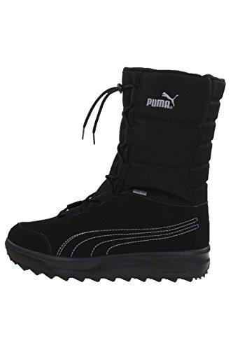 Puma Unisex-Kinder Borrasca Iii Gtx Ps Schneestiefel Schwarz (Black-Grey Dawn)