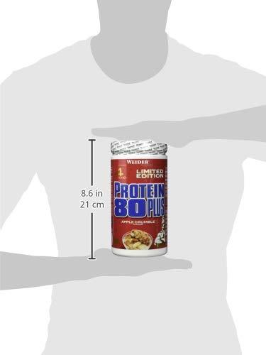 Weider 80 Plus Protein, Apple Crumble, Weihnachtsedition, Sonderedition, Limited Edition, 500 g - 6