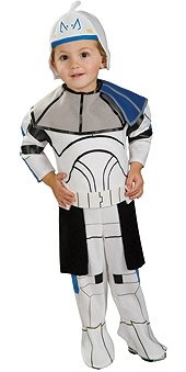 Kinder-Kostüm-Set Clone Trooper Captain Rex (7-12 -