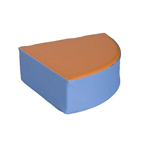kidunivers–Sitzsack Eck aus Schaumstoff für Kinder von 1bis 3Jahre bebix