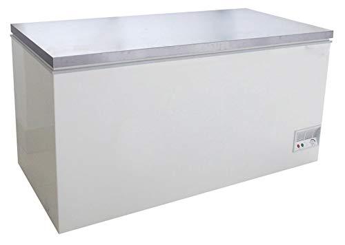 Tiefkühltruhe mit Klappdeckel 466 Liter Gefriertruhe Kühltruhe Tiefkühler Einfrierer