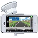 Just Mobile Xtand Go Support de voiture pour iPhone 4/4S/5 Blanc