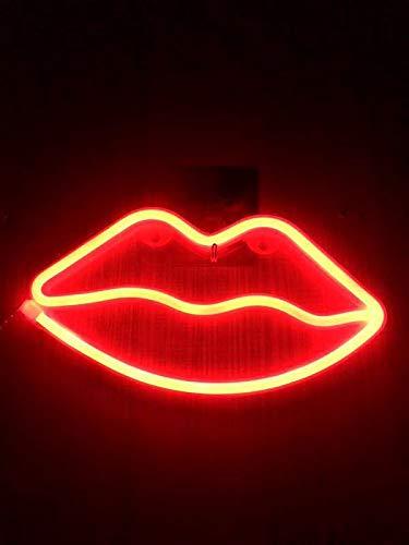 Led Modellierung Lichter Flamingo Neon Lichter Alec Buchstaben Lampe String Heirat Vorschlag Tisch Weiß Raum Dekoration Licht Kleine Nachtlicht Flamme Rote Lippe -