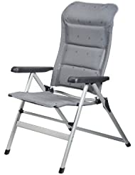 CAMPART Travel CH-0608 - Silla de camping, color gris