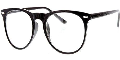 BLUE DIAMOND Round Wayfarer Unisex Reading Eyeglasses(58484848|Black)