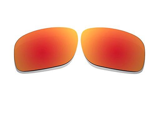 BlackWorld Fire Rot Spiegel Polarisierte Ersatz Gläser für Oakley Holbrook Sonnenbrille