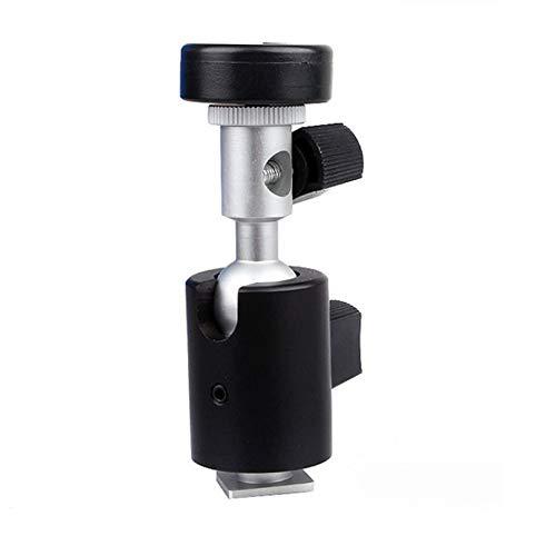 Mamum Blitzhalterung, C-Typ, kleiner Schwenk-Blitzhalter Wanxiang PTZ Einsatz, Regenschirm, Blinker, Lampenständer, C-Seat