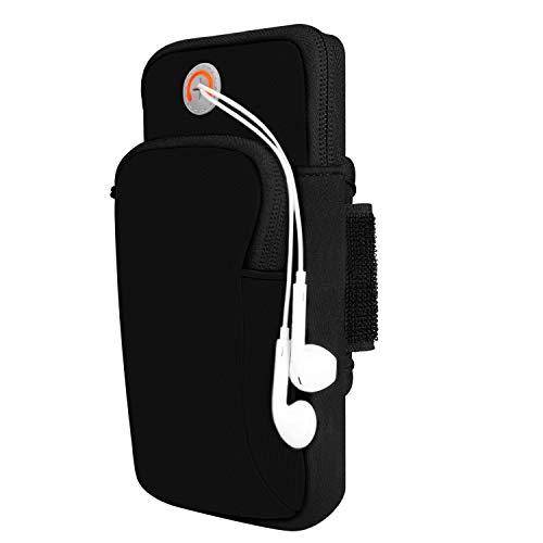 Sport Armband Handytasche für Handys bis zu 5,5 Zoll Smartphone Laufen Sportarmband Schlüssel Halter Tasche