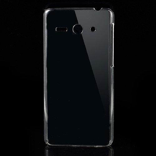 [A4E] passend für Huawei Ascend Y530 (C8813) ohne Design Muster Hartschale Hülle Schutzhülle (transparent / klar / durchsichtig / unsichtbar)