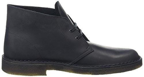 Clarks Originals, Desert Boots Homme Noir (Blk Smooth Lea)