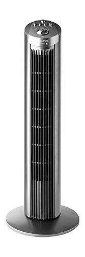 Taurus Ventilador Aire Torre Babel OSCILANTE,TEMPORIZAD, 45 W, 3 Velocidades, Gris