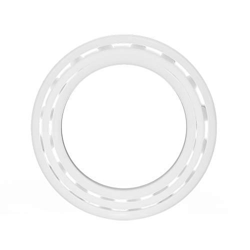 Kugellager, 1 stück Weiße Farbe ZrO2 Keramik Miniatur 6805 Kugellager 25 * 37 * 7mm (Die Türen Longboard)
