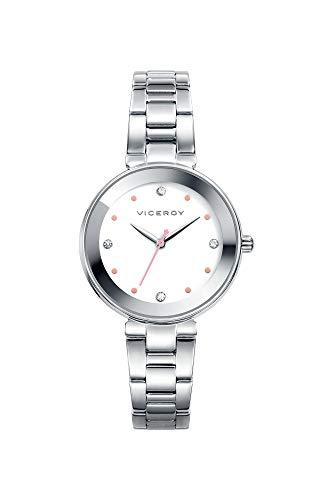 Viceroy Femmes Analogique Quartz Montre avec Bracelet en Acier Inoxydable 401040-00