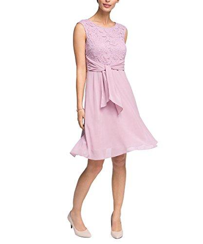 Esprit 026eo1e015 - Chiffon Quality - Robe - Femme Violet - Violett (LILAC 560)
