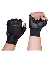 Dee mannequin Leather Gym Gloves