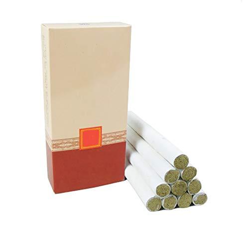 Rotolo tradizionale del bastone di Moxa di alta qualità 10pcs / box, bastone di Moxibustione di salute