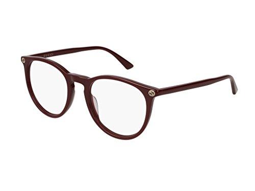 Gucci Damen Brillengestell Rot bordeaux