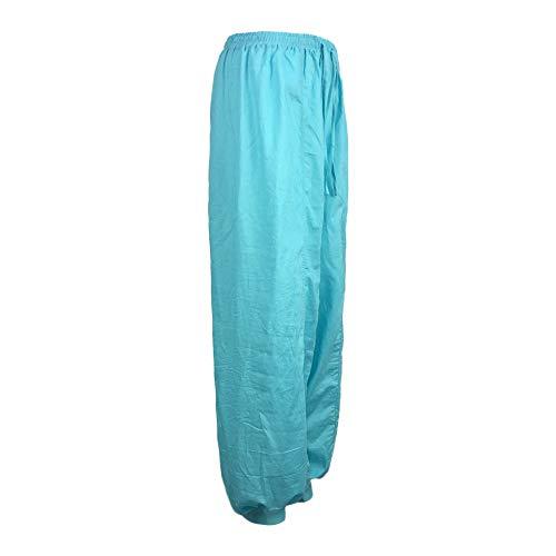 emshose Pilates-Hosen Weite Hose Chiffon Paperbag Hose Sporthosen Einfarbig Festliche Hosen Weite Bein Hohe Taille mit Breiter Gummibund und Gürtel für Arbeit Freizeit Urlaub ()