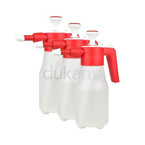dukano 3X Sprühflasche Handsprüher Pumpsprühflasche Pumpsprüher Sprüher 1 L Liter Leer - Liter Sprühflasche