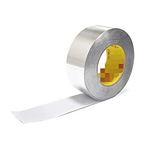 SSFFSJDM Cinta autoadhesiva de Papel de Aluminio Cinta Gruesa súper Fija Cinta selladora de Alta Temperatura Cinta…