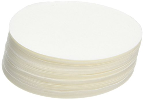 Camlab 1171143 Grade 11 [41] Quantitative Filter Paper, Fast Filtering, Ashless, 90 mm Diameter (Pack of 100)