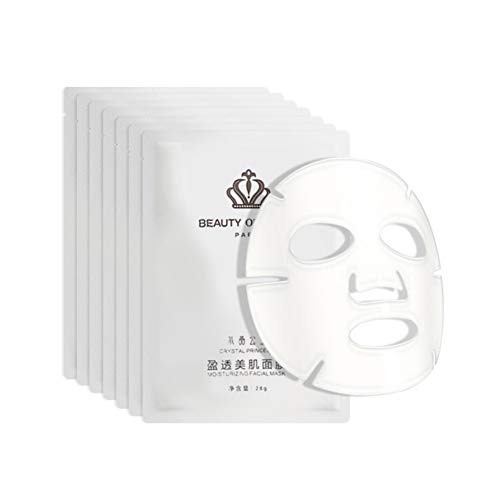 Allbestaye Collagen Essence Facial Mask Clear Crystal Jelly 7 Sheets Set