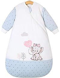 Chilsuessy Kinderschlafsack Baby Winterschlafsack Schlafsaecke aus GOTS Bio Baumwolle von Geburt bis 4 Jahre alt