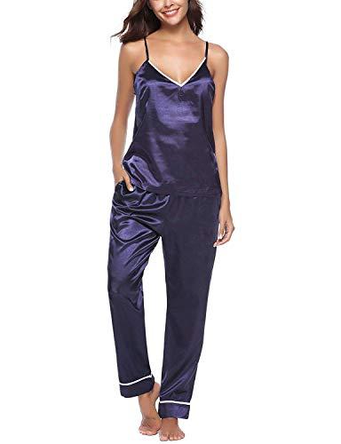 Pants Silk Bathing Costume Donne Spun Summer Pigiama Sling Tops Men Home Camicia Women Huixin YgfqH