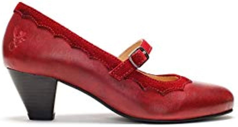 Spieth Wensky Scarpe col col col Tacco Donna Rosso rosso | Negozio  276dac
