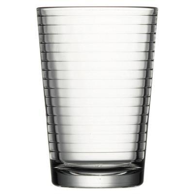 Cavendish Trading potable cristalería Set con vaso de tubo/tamaño me