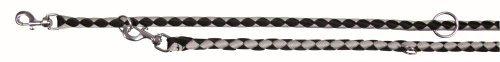 Trixie 14351 Cavo V~Leine, S-M: 2,00 m/ø 12 mm, schwarz/silber
