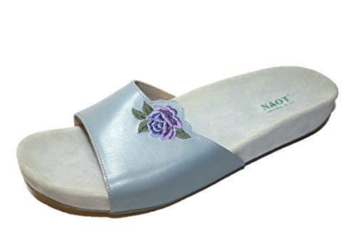 Naot Flamenco 52008 Damen Schuhe Pantoletten Blau