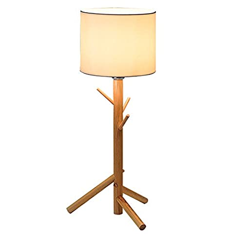 Modern Desk Lamp-XCH Dazzling DL- E27 High Quality Linen Lampshade