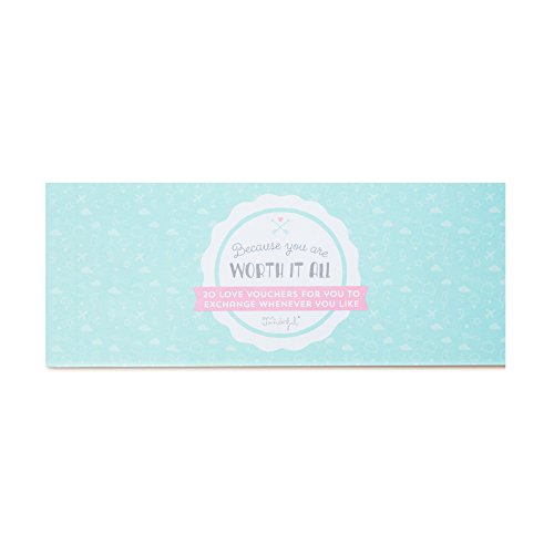 Mr. Wonderful Love vouchers 'Because you are worth it all'